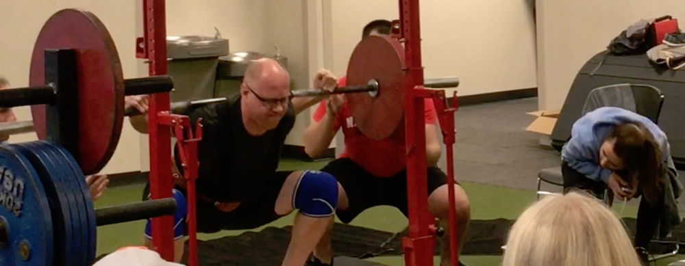 Starting Strength Challenge 143Kg / 315.3Lb Squat | Marty Curran