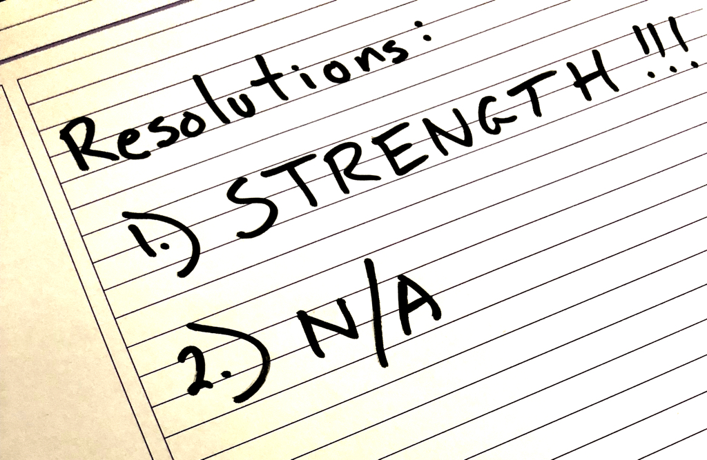 Strength is the Only Resolution you Need …!!! | Marty Curran