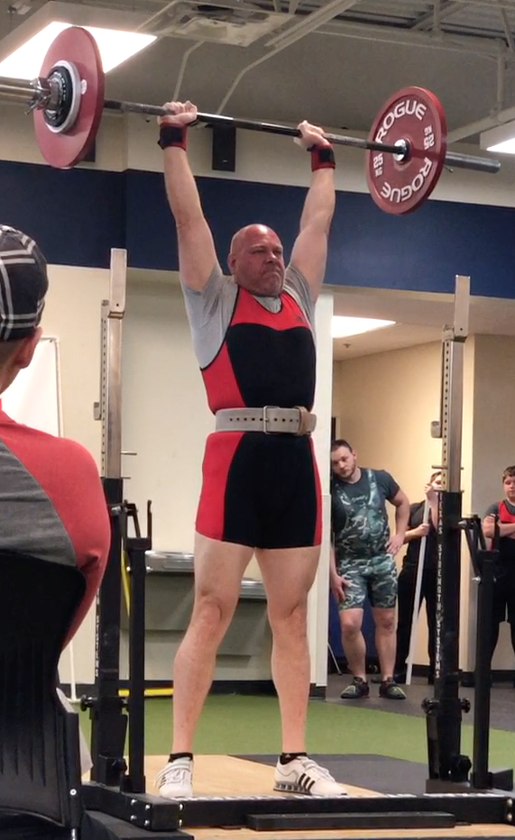 200+ lb Overhead Press from Nebraska Strengthlifting Meet